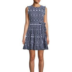 Kate Spade eyelet wrap dress. Never worn.